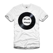 SolJah Apparel x Artifacts Dubplate White Tee