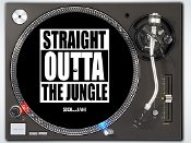 "Straight Outta 12"" Slipmats"